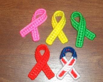 Set of 5 Special  Ribbon Pins  Ready to Ship