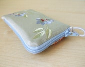 iPhone iPod Zipper Case  Pure Silk -Piece  Of Luxury