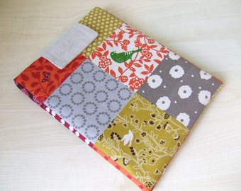 Patchwork Story iPad or Kindle 1 2 3 XD Fire or Any Your TABLET Made to Order sleeve cover