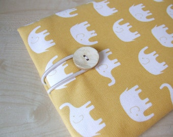 Cute Elephants Kindle 1 2 3 or Any Your Small Tablet sleeve cover