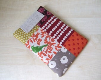 Patchwork Story Kindle 3 or Any Your Small Tablet sleeve cover