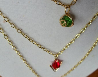 The Legend of Zelda® Crystal Spiritual Stone Necklace