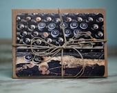 Wedding Thank You Cards - Typewriter Key - set of 50