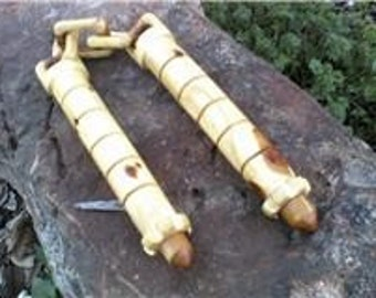 Solid Wood NUNCHUCKS