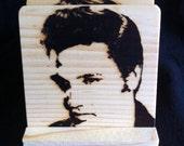 Elvis Coasters - Branded in Solid Pine