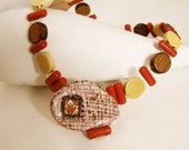 Monferrina - ooak necklace by Joo