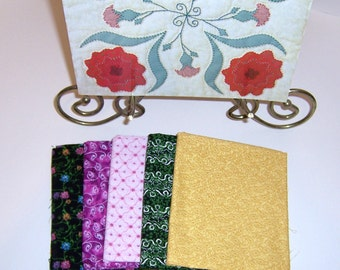 Quilt Kit Five Fabrics And Book Shadow Applique by That Patchwork Place