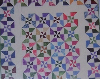 20 Fat Quarters Fabric And Book Kit Quilt In A Day