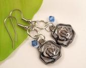 Rose Dangle Earrings