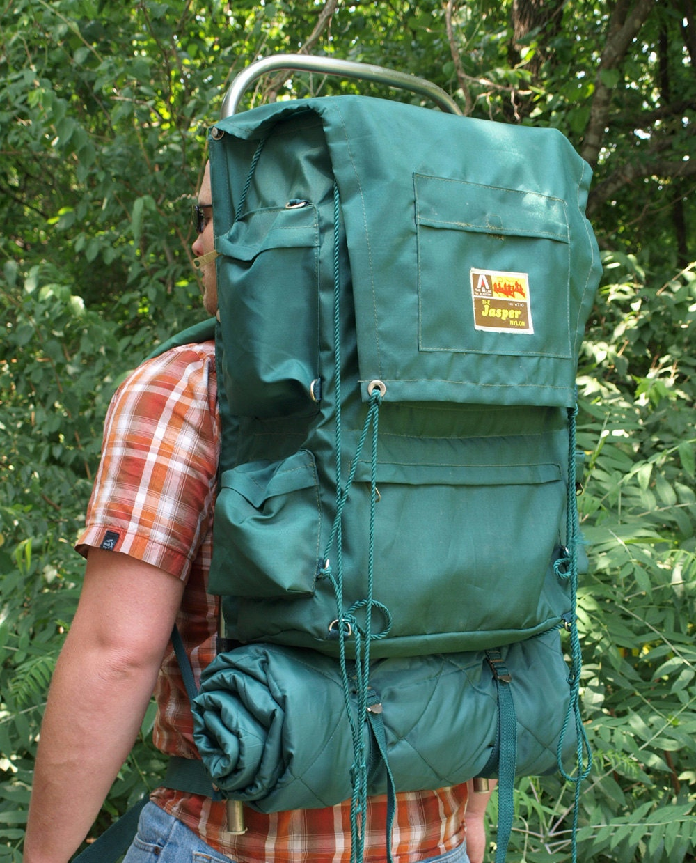Vintage External Frame Backpack