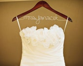 """Reserved Listing - Wedding Hanger with Half Rush - Only purchase this listing if your Etsy name is """"kyleehenderson1"""""""