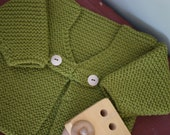 Baby Sweater Olive Green