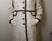 Vintage Neutral Mid-Century Tweed Jacket Made by Town and Country - SALE