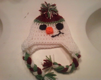 Made to Order Frosty the Snow Man Hat