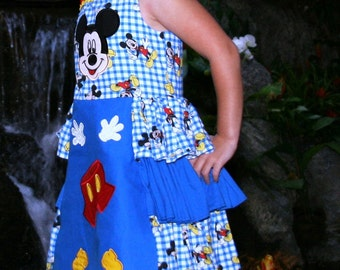 Boutique Mickey Mouse Jumper Dress