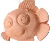 nemo the fish soap, nemo soap, kids soap, party soap favors, favors, gifts, handmade soap