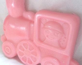 choo choo train glycerin kids soap