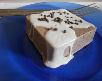 brownie cake soap, health and beauty, soap, dessert soap