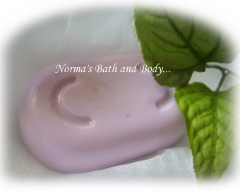 blackberry and sage goats milk soap
