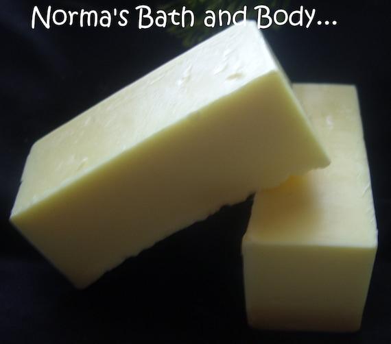 banana nut bread glycerin soap sample