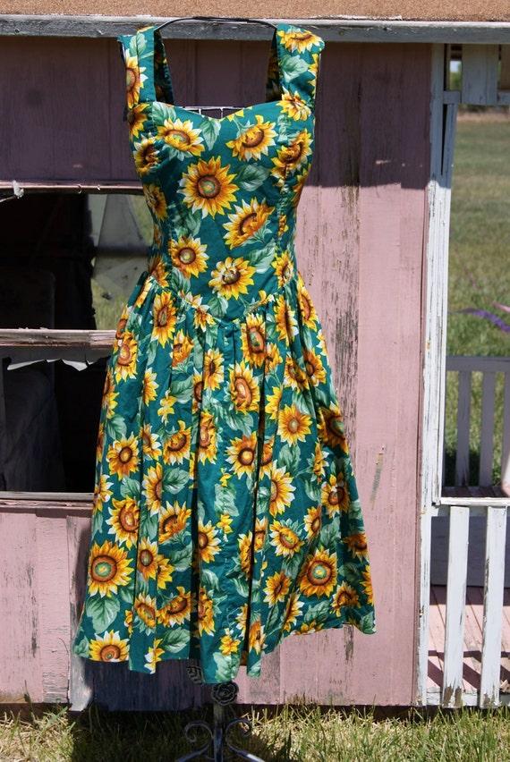 Blue Tank Top Dress