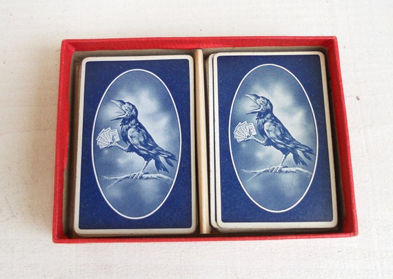 SALE Complete 1943 Parker Brothers Rook Card Game Navy Cards