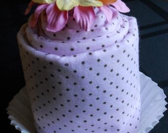 Baby Blanket Cupcake