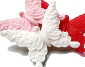 Butterfly Soap - Filigree Kisses Set of Three, Any Color