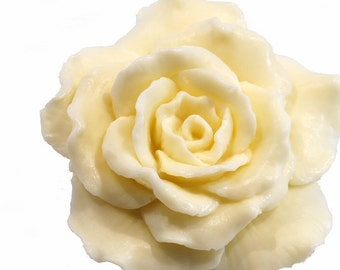 Flower Soap Rose In Ivory - Decorative Gift Soap