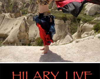 Hilary Live DVD by Hilary Thacker - belly dancing round the world