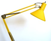 Bright Yellow Tensor Lamp
