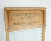 Antique Washboard  - Rustic decor Farmhouse Cottage Shabby Chic