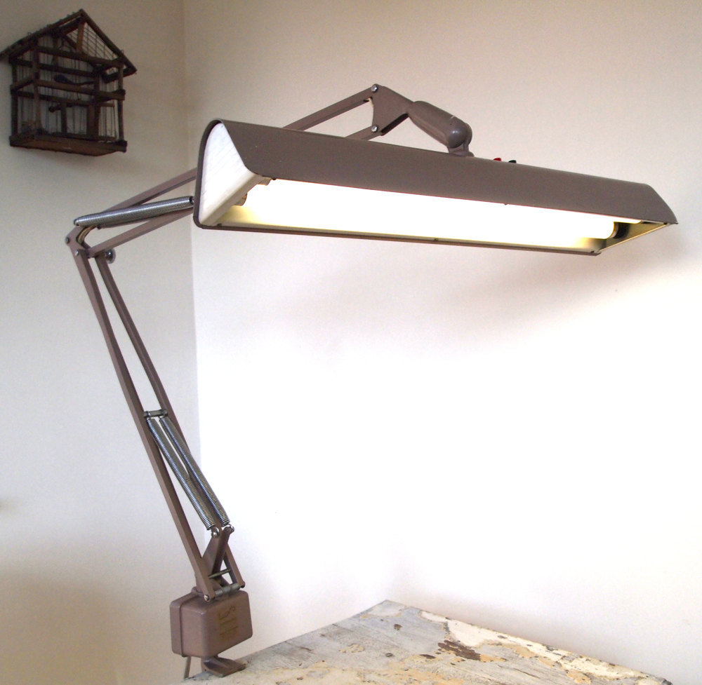 Luxo Fluorescent Drafting Lamp