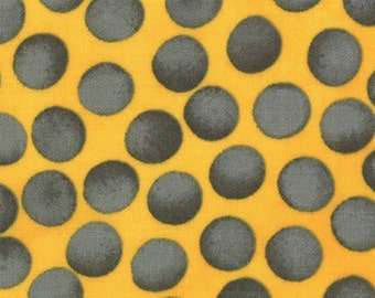 ON SALE Stitch In Color by Malka Dubrasky for Moda  Yellow Steel 23208 11  - quilting fabric - cotton fabric