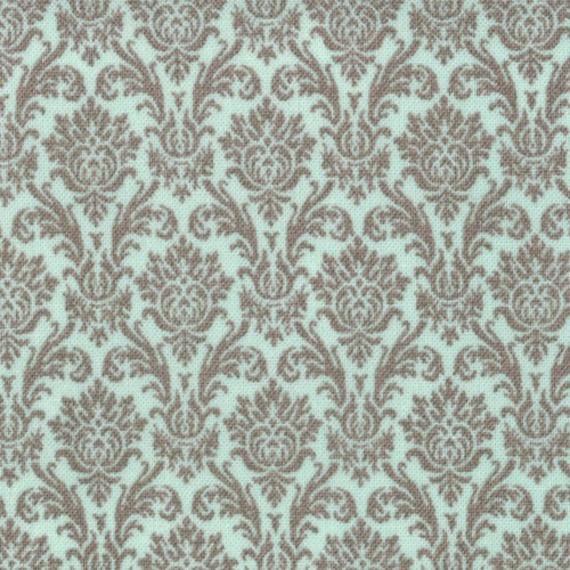 Blitzen Damask by basicgrey Mint Grey 30298 15 - quilting fabric - cotton