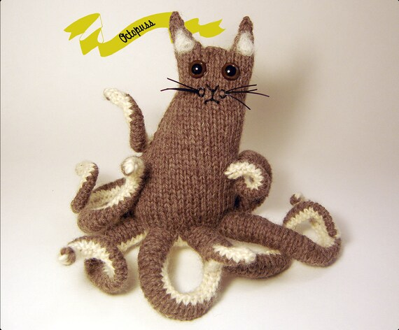 Octopuss Amigurumi KNITTING PATTERN