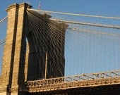 Brooklyn Bridge - 8x10 Print with 11x14 Black Mat