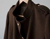 VIntage High Fashion Japanese Military Jacket