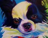 Chihuahua, Pet Portrait, DawgArt, Dog Art, Pet Portrait Artist, Colorful Pet Portrait, Chihuahua Art, Pet Portrait Painting, Art Prints