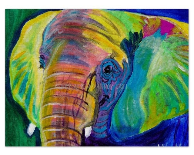 cute and colorful Elephant Pillow Case Cover  amazoncom