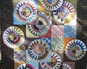 Reproduction Beauties quilt pattern