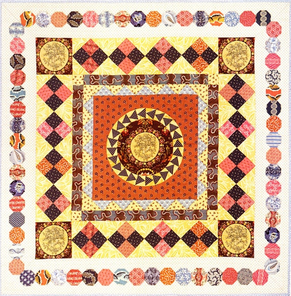 Items similar to Winbourne quilt pattern on Etsy