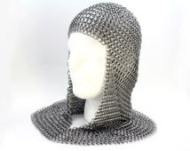 Medieval Knight Armor Chainmaille Coif