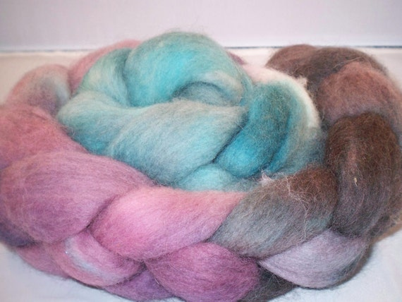 Clearance Cobbler falkland wool roving/top approx 4.125 oz