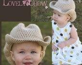 Western Crochet Pattern Cowboy Hat  for BOOT SCOOT'N Cowboy Hat digital