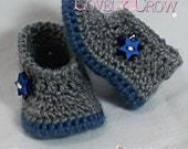 Baby Shoes Crochet Pattern for MY ANGEL BABY bootie digital