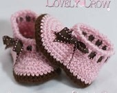Baby Slippers Crochet Pattern for MY ANGEL BABY booties