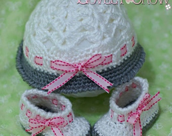 Baby Crochet Patterns MY ANGEL BABY set digital
