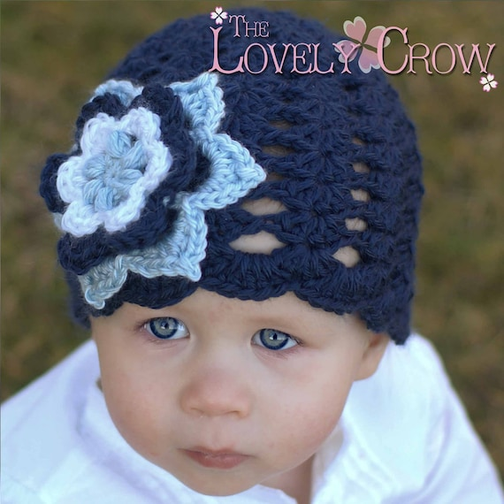 Baby Girl Hat Crochet Pattern for KINDRED SPIRITS BEANIE