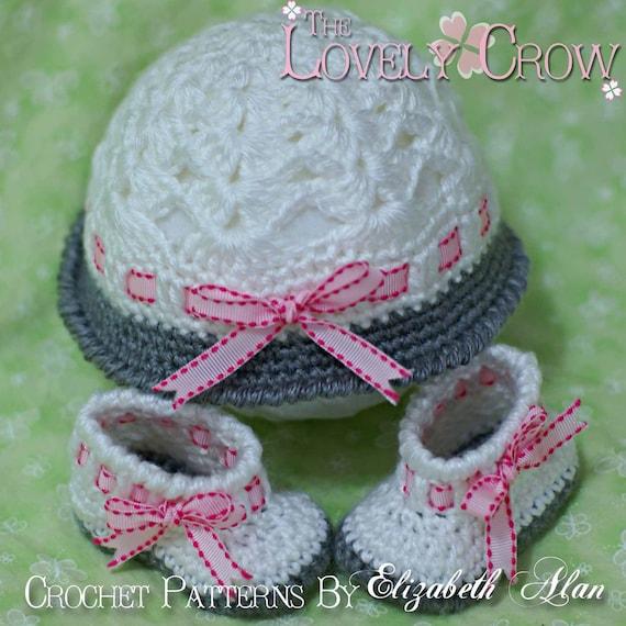 Layette Crochet Patterns MY ANGEL BABY set digital